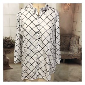 New York & Co Button Down Blouse
